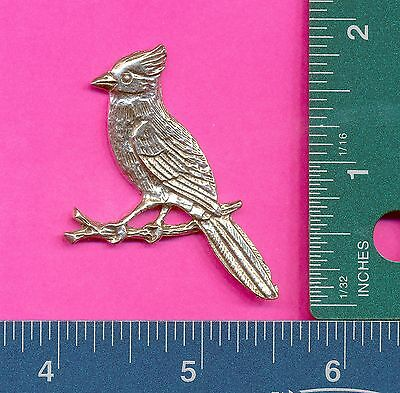lead free pewter cardinal flat A1072