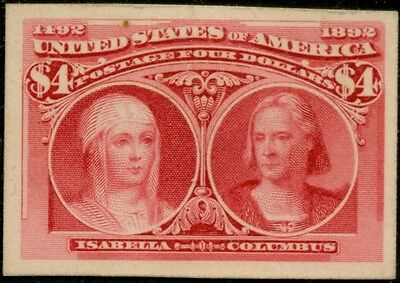 #244P4 Vf-Xf Plate Proof On Card Bp8422