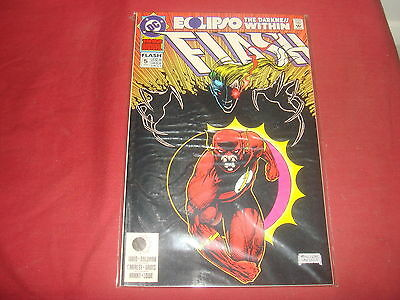 THE FLASH ANNUAL #5 Wally West  DC Comics 1992  NM Eclipso