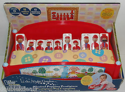 New In The Night Garden Pontipines Popping Piano Musical Toy