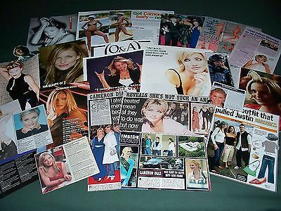 Cameron Diaz  - Film Star - Clippings / Cuttings Pack