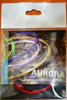 Aurora String Set For Turkish String Instrument Long Neck Saz  0.20 Mm