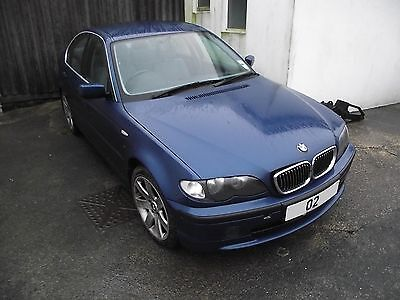 Bmw 3 Series E46 Breaking Parts Spares Topas Blue Boot Lid