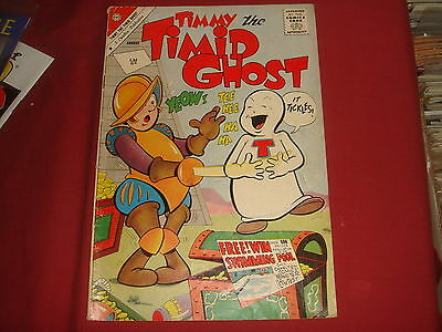 TIMMY THE TIMID GHOST #28 Charlton Comics Silver Age 1961 VG
