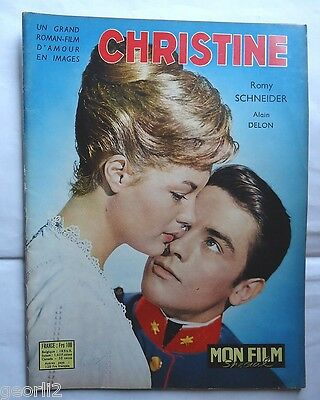 ROMY SCHNEIDER+ALAIN DELON/CHRISTINE/ photonovel/