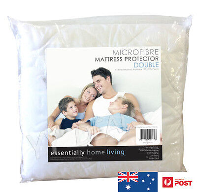 Essentially Home Living - MicroFibre Mattress Protector DOUBLE SIZE