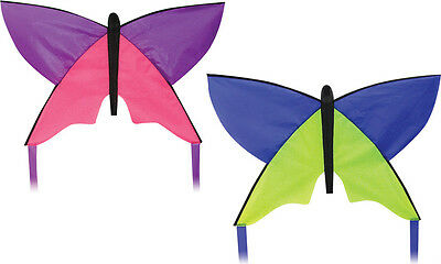 Childrens Mini Butterfly Kite. 2 Colours. Easy  To Fly