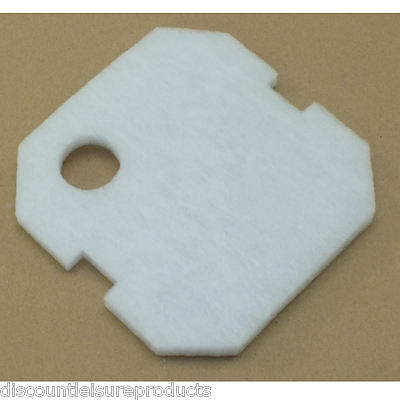 Jebao 402, 403 & 404 External Aquarium Fish Filter Fine White Poly Pad Foam