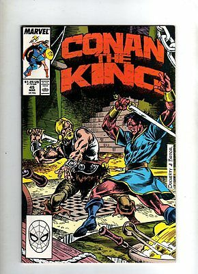 Conan The King - Marvel Comic - #45 - ( 1988 )  Vg