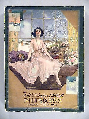 Philipsborn's CATALOG - Fall/Winter, 1920-1921 -- All Fashion ~~ 280 pages
