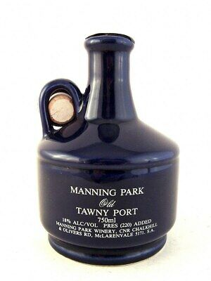 1992 circa NV MANNING PARK Barmera Monash Football Club Tawny Port Isle of Wine