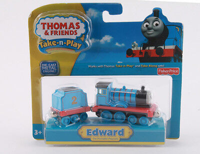 Fisher Thomas Take-N-Play Magnetic Diecast Edward & Tender R9463