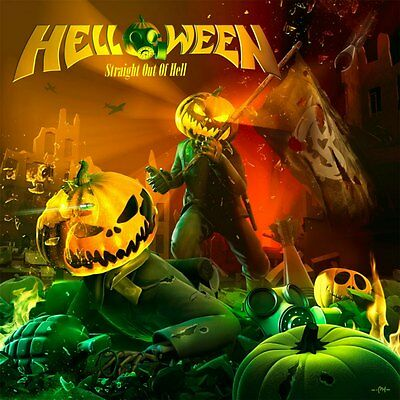 Helloween Straight Out Of Hell Doppio Vinile Lp Gatefold Nuovo !!