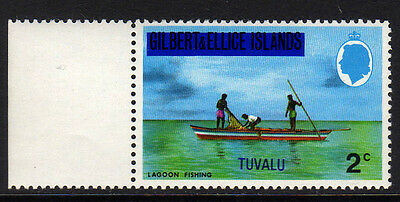 TUVALU 1976 2c WITH WATERMARK SIDEWAYS SG 10 MNH.