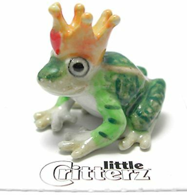 LC335 Little Critterz  - Frog Prince (Buy 5 get 6th free!)