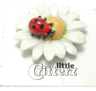Little Critterz LC531- Ladybug on Daisy (Buy 5 get 6th free!)