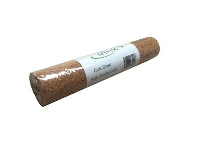 HIGH QUALITY CORK SHEET - 1 Meter x 300 mm - 2 mm Thick