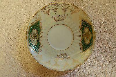 Royal Vale Saucer by Royal Sealy China of Japan 1950, Gold Plated beautiful