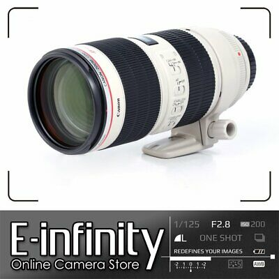 NEW Canon EF 70-200mm f/2.8 L IS Mark II USM Lens