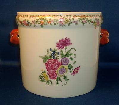 Mottahedeh Porcelain Cachepot Jardiniere Colonial Williamsburg Chinese Export