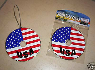 USA Deko- Hänge- CD    Stars and Stripes    für US-Cars / America Fans