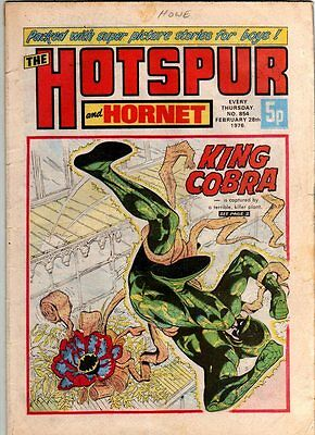 Hotspur And Hornet - Uk Vintage Comic - #854 - 28 Feb 1976
