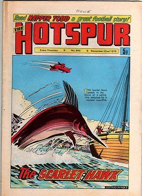 Hotspur - Uk Vintage Comic - # 840 - 22 Nov 1975