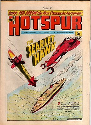 Hotspur - Uk Vintage Comic - # 841 - 29  Nov 1975