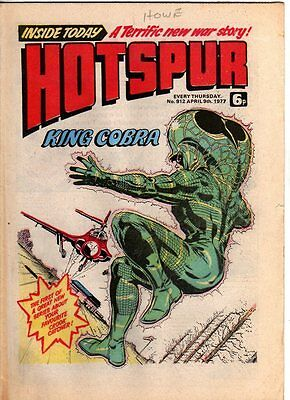 Hotspur - Uk Vintage Comic - # 912  - 9 April 1977