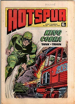 Hotspur - Uk Vintage Comic - # 921 - 11 June 1977