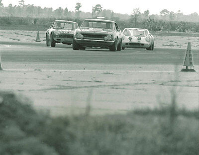 Vintage 8 X 10 1969 Sebring Lotus Europa Heppenstall VW Special Racing Photo