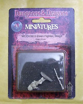 DUNGEONS & DRAGONS - ELVEN FIGHTER/MAGE - WIZARDS BLISTER NUOVO