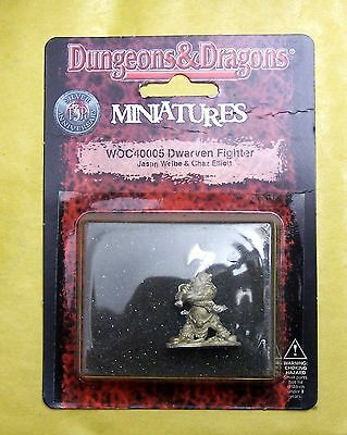 DUNGEONS & DRAGONS - DWARVEN FIGHTER - WIZARDS BLISTER NUOVO