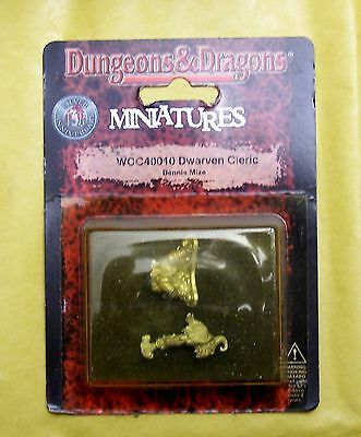 DUNGEONS & DRAGONS - DWARVEN CLERIC - WIZARDS BLISTER NUOVO