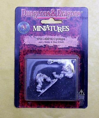 DUNGEONS & DRAGONS - CYCLOPS - WIZARDS BLISTER NUOVO