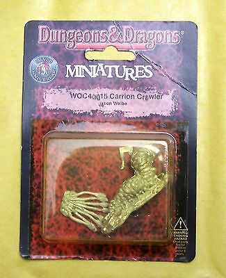 DUNGEONS & DRAGONS - CARRION CRAWLER - WIZARDS BLISTER NUOVO