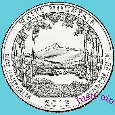2013-P White Mountain National Forest (Nh) Quarter Uncirculated U.s.mint