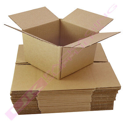"""LARGE CARDBOARD BOXES 25 x 19 x 22"""" PACKING MAILING SHIPPING CHEAP *SELECT QTY*"""