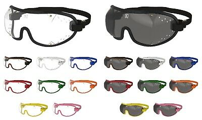 Kroops XC Racing Cross Country Eventing Goggles| Clear/Tinted |FREE UK Delivery