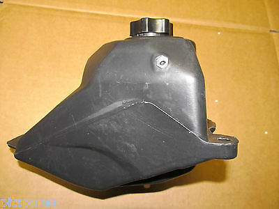 Mini dirt bike minimoto Fuel petrol tank with fuel cap.