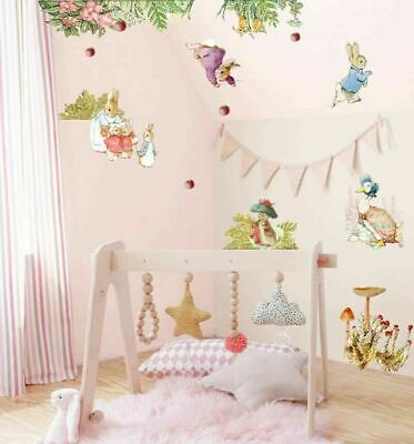 Mickey Minnie Mouse Alphabets Wall Stickers Nursery Decor Art Decal Removable