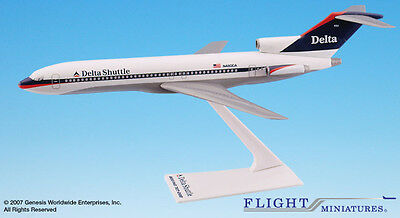 Flight Miniatures Delta Shuttle Airlines 1997 Boeing 727-200 1:200 Scale New
