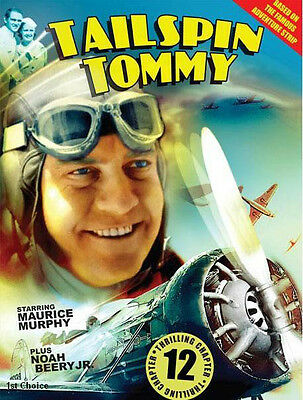 Tailspin Tommy - Cliffhanger Movie Serial DVD  Maurice Murphy Noah Beery, Jr