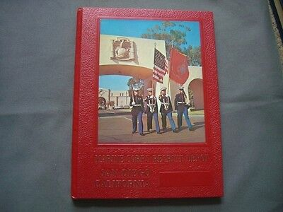 Yearbook Annual 1987 Marine Corps Recruit Depot First Battalion 1061 1062 1063