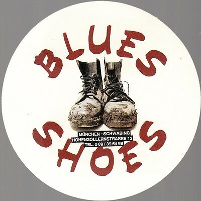 [35195] Old Blues Shoes (Munich, Germany) Advertising Sticker