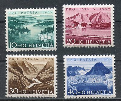 Stamp / Timbre De Suisse Neuf Serie N° 522/525 ** Paysage