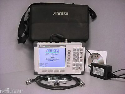ANRITSU SITE MASTER S331D CABLE & ANTENNA ANALYZER w/ OSL, Opt: 3 COLOR DISPLAY