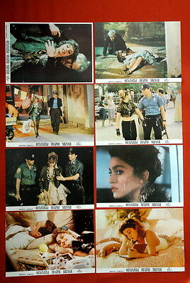 DESPERATELY SEEKING SUSAN MADONNA 1985 8x RARE EXYU LOBBY CARDS