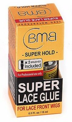 BMB Salon Super Lace Glue For Lace Wigs 100% Waterproof 0.5 Fl.Oz/ 15ml