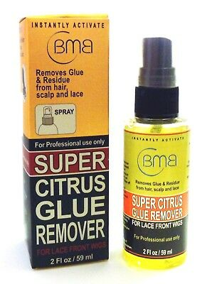 BMB Spray Super Citrus Glue Remover For Lace Front Wigs 2 Fl.Oz/ 59 ml The Best*